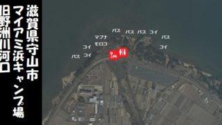 【琵琶湖南エリア】『野洲市 マイアミ浜・旧野洲川河口』の釣り場ガイド(駐車場・釣れる魚)
