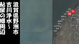 【琵琶湖南エリア】『野洲市 吉川浄水・鮎屋の郷』周辺の釣り場ガイド(駐車場・釣れる魚)