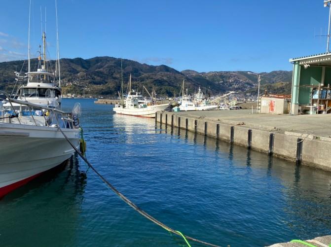 【伊豆東エリア 伊東市】『宇佐美港』の釣り場ガイド(釣れる魚・駐車場)