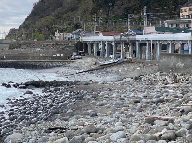 【東伊豆町】『片瀬白田駅 周辺の釣り場ガイド(釣れる魚・駐車場・トイレ)