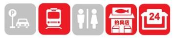 【伊豆 河津町】『波来港(河津茶屋 かわちゃ付近)』の釣り場ガイド(釣れる魚・駐車場・トイレ)