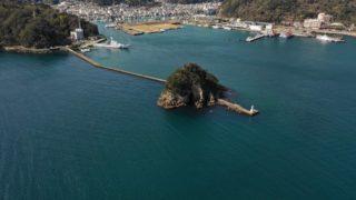 【南伊豆|下田市】『犬走島 周辺』の釣り場ガイド(釣れる魚・駐車場・トイレ)