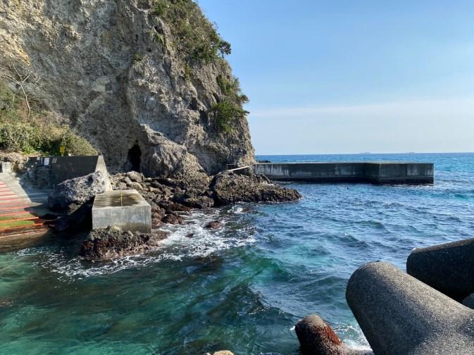 【南伊豆|下田市】『多々戸浜海水浴場』の釣り場ガイド(釣れる魚・駐車場・トイレ)