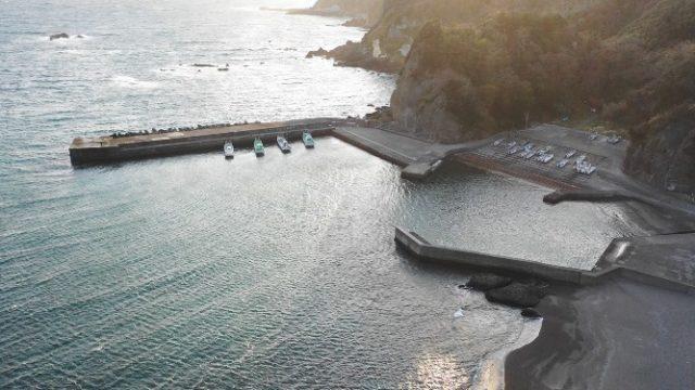【南伊豆町】『入間港:いるまこう』の釣り場ガイド(釣れる魚・駐車場・トイレ)