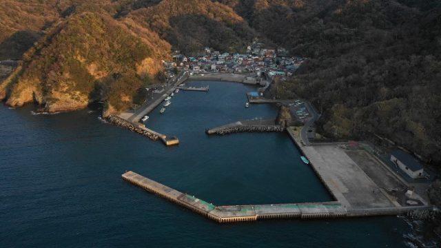 【南伊豆町】『妻良港:めらこう』の釣り場ガイド(釣れる魚・駐車場・トイレ)