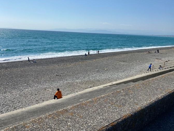 【沼津市】『千本浜公園~片浜海岸』の海釣りガイド(釣れる魚・駐車場・トイレ)