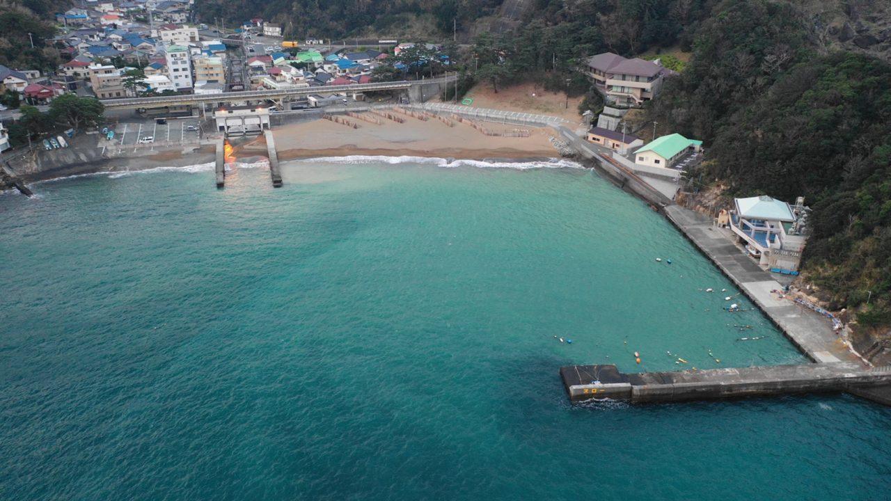 【西伊豆 松崎町】『雲見海岸』の釣り場ガイド(釣れる魚・駐車場)