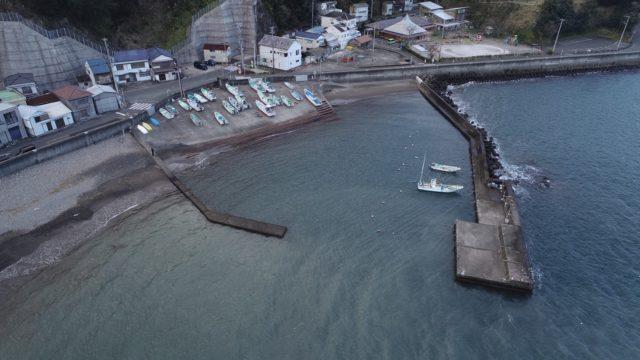【西伊豆町】『大田子海岸|おおたごかいがん』の釣り場ガイド(釣れる魚・駐車場)