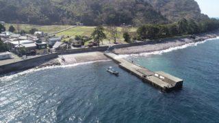 【西伊豆|沼津市】『井田海水浴場』の釣り場ガイド(釣れる魚・駐車場)