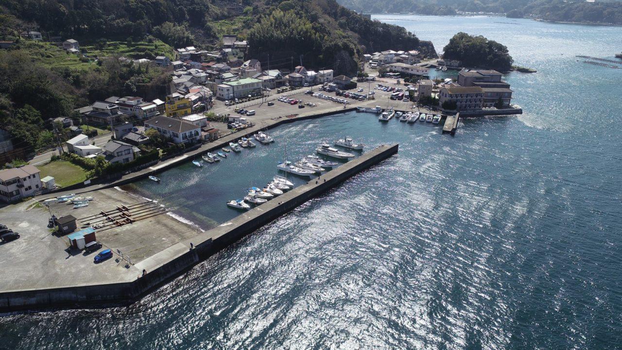 【沼津市】『重寺港』の釣り場ガイド(釣れる魚・駐車場)