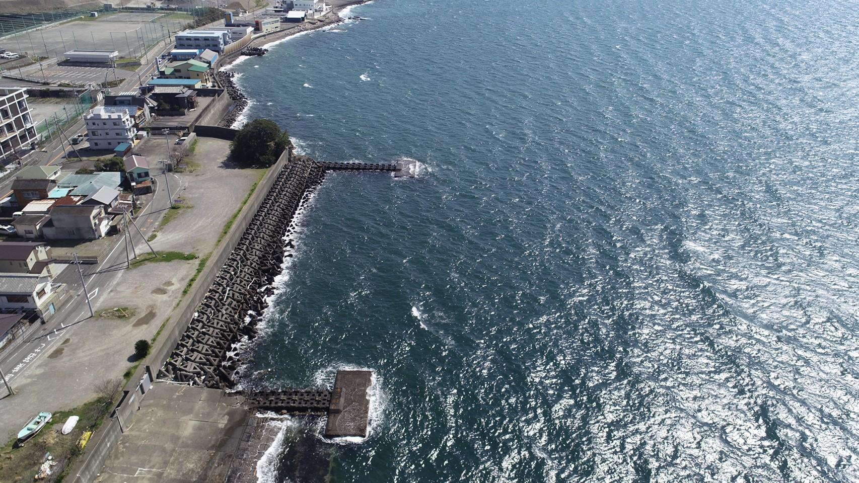 【沼津市】『獅子浜海岸』の釣り場ガイド(釣れる魚・駐車場)
