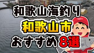 和歌山県「和歌山市」おすすめ海釣りスポット8選