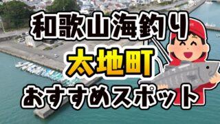 和歌山県「太地町」おすすめ海釣りスポット2選(釣れる魚・アクセス)
