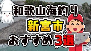 【保存版】和歌山県「新宮市」おすすめ海釣りスポット3選(釣れる魚・アクセス)
