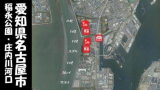 【ファミリー向け!名古屋市】『稲永公園・庄内川河口』の釣り場ガイド(駐車場・釣れる魚)