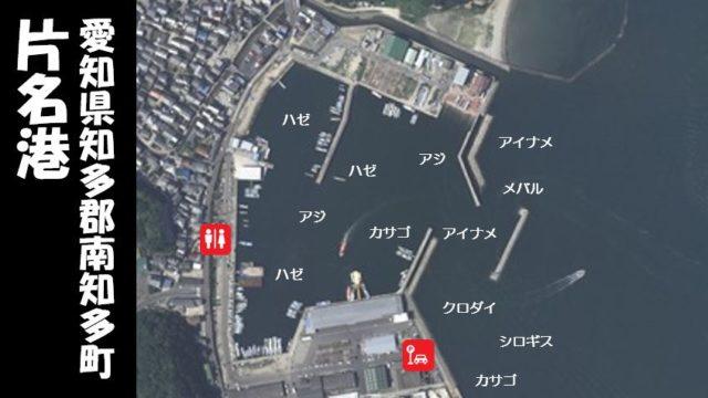 【テトラ帯が狙い目|南知多町】『片名港:かたなこう』の釣り場ガイド(駐車場・トイレ・釣れる魚)