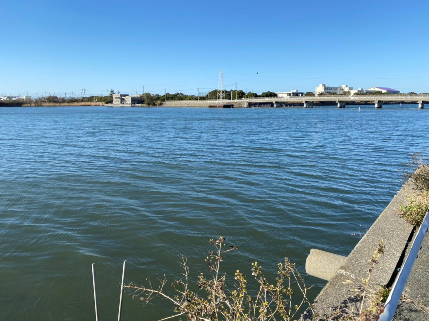 【浜名湖南部】『新川・宇布見橋周辺』の釣り場ガイド
