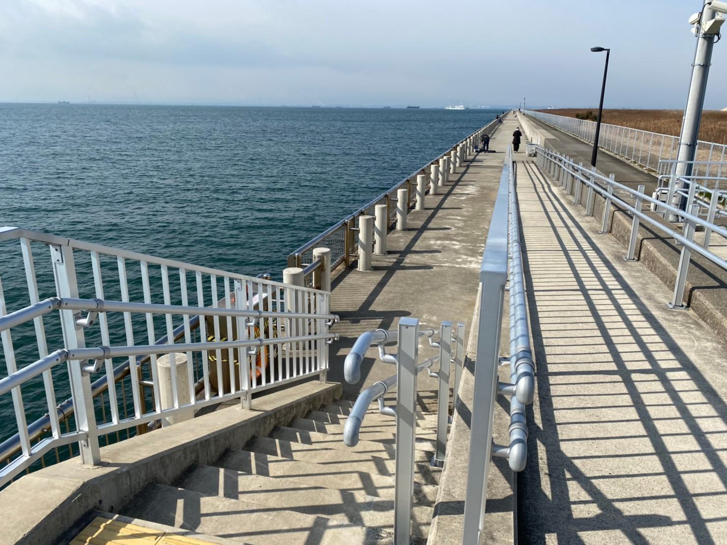【ハゼやアナゴ釣りに人気】『新舞子マリンパーク海釣り施設』の釣り場ガイド(駐車場・釣れる魚)