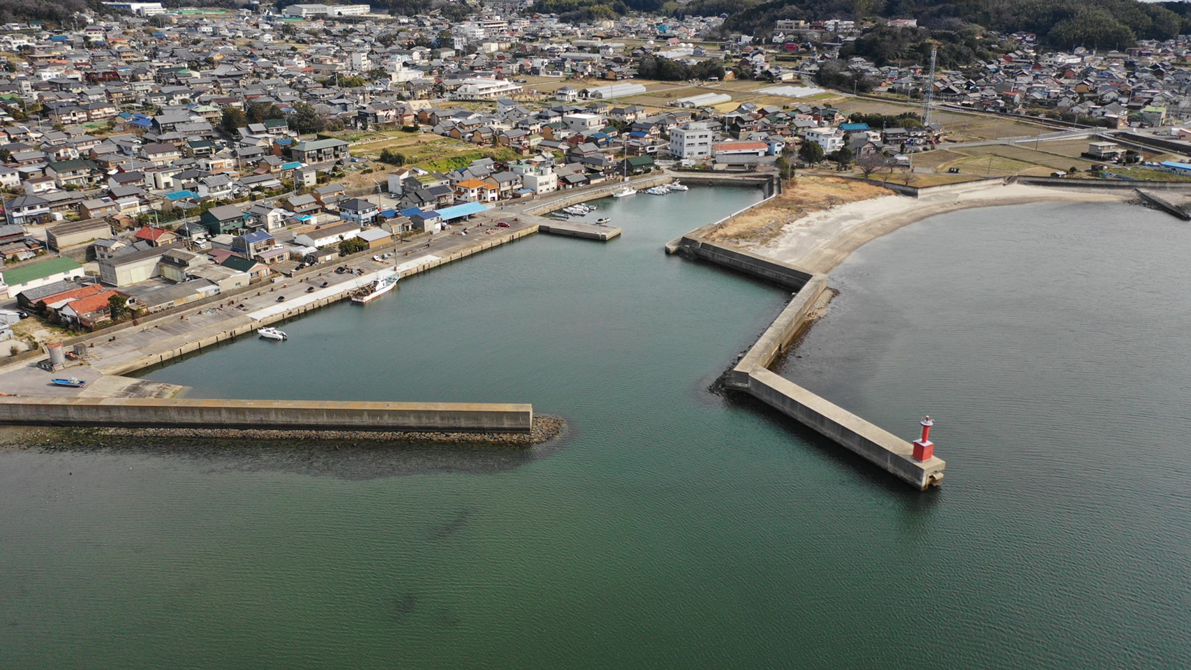 旧西幡豆漁港