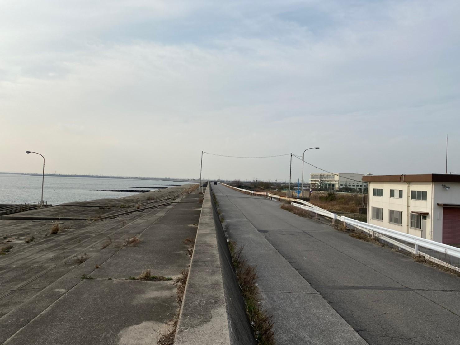 矢崎川河口