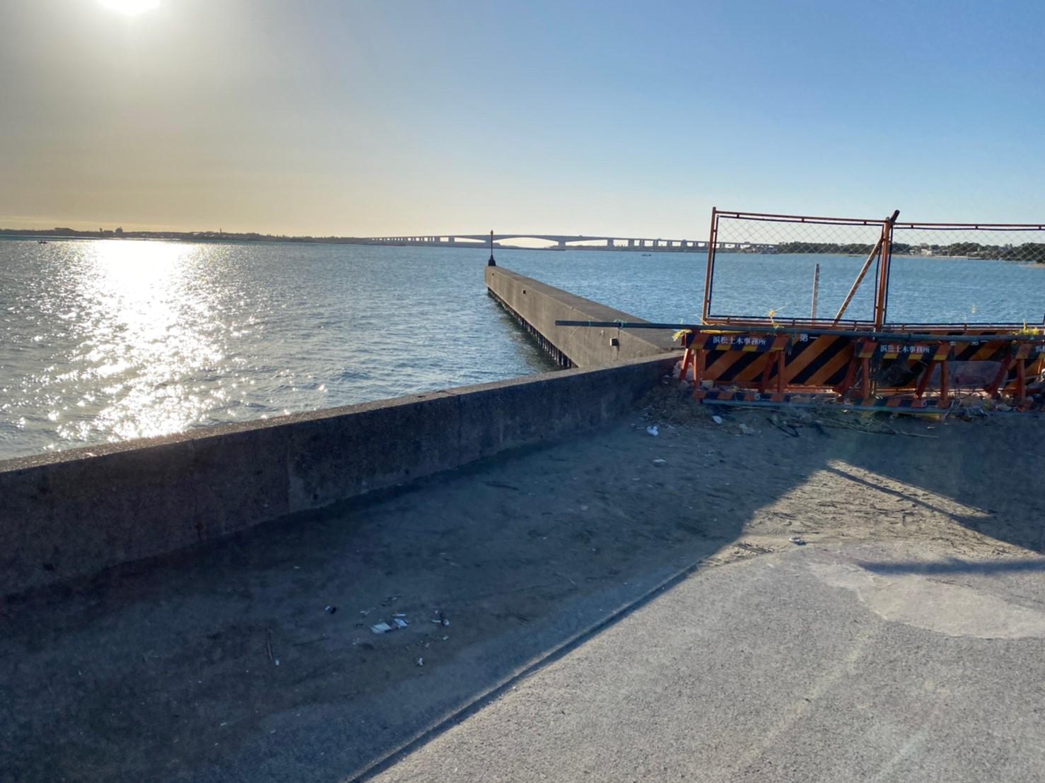 【浜名湖南部】『砂揚げ場』エリアの釣り場ガイド(駐車場・釣れる魚)