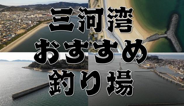 【永久保存版】愛知県『三河湾』エリアのおすすめ釣り場46スポットまとめ