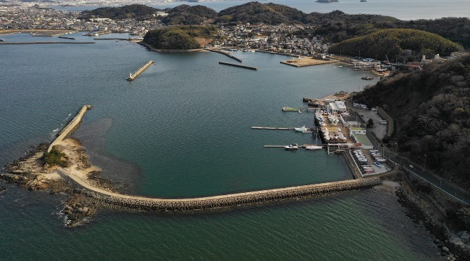 【写真】『倉舞港』はトイレあり