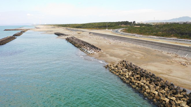 【三河湾】『西の浜・休暇村下』の釣り場ガイド(駐車場・トイレ・釣れる魚)