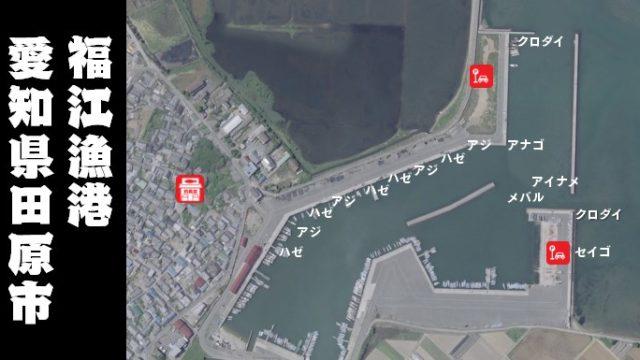 【メバルが狙い目】田原市『福江漁港:ふくえぎょこう』の釣り場ガイド(駐車場・トイレ・釣れる魚)