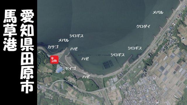 【田原市|チョイ投げのシロギス】『馬草港:まぐさこう』の釣り場ガイド(駐車場・釣れる魚)