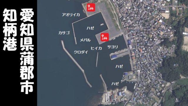 【ヒイカが人気|蒲郡市】『知柄港:ちがらこう』の釣り場情報(駐車場・釣れる魚)