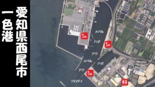 【ハゼの人気スポット】『一色港:いっしきこう』の釣り場ガイド(住所・駐車場・釣れるお魚)