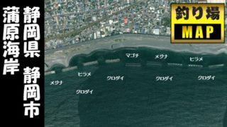 【静岡市】『蒲原海岸:かんばら』の海釣りガイド(釣れる魚・駐車場)
