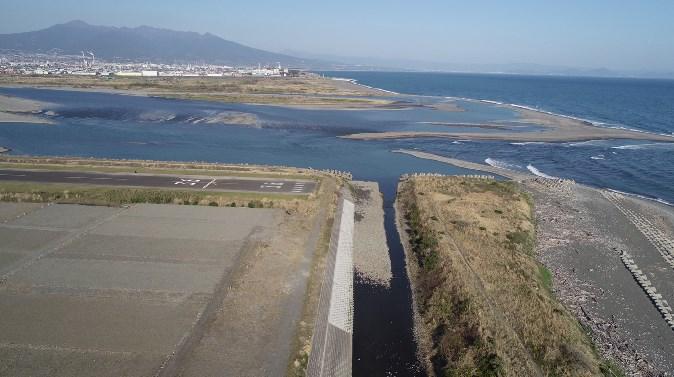 【富士市】『富士川河口・富士川緑地』の釣り場ガイド(釣れる魚・駐車場・トイレ)