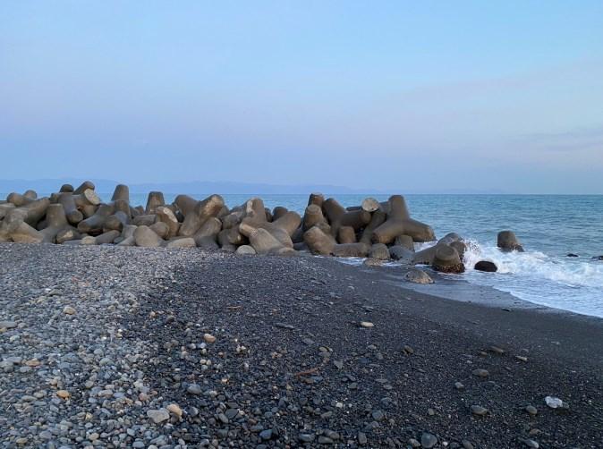 【清水エリア】『三保松原・駒越海岸』の海釣りガイド(釣れる魚・駐車場)