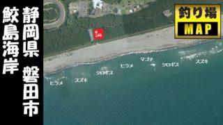 【静岡県磐田市】『鮫島海岸:さめじま』の海釣りガイド(釣れる魚・駐車場・トイレ)