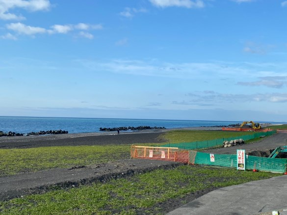 【静岡市駿河湾】『大浜海岸・大浜公園~風電君』の海釣りガイド(釣れる魚・駐車場・トイレ)