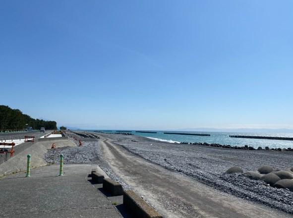 【焼津市】『高新田浜公園』の海釣りガイド(釣れる魚・駐車場・トイレ)