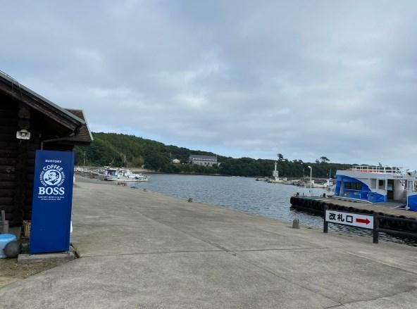 【佐久島 東エリア】海釣りセンター・東港の釣り場