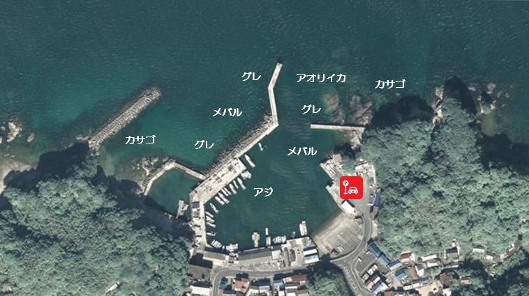 【三重県志摩市】『御座港』の海釣りガイド(釣れる魚・駐車場・トイレ)
