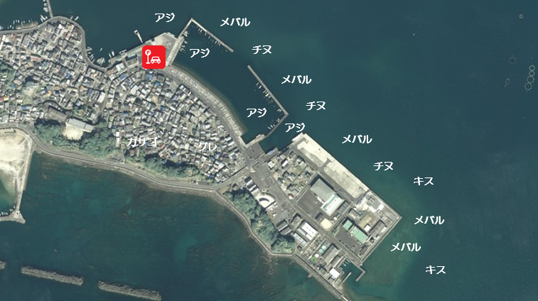 【三重県志摩市】『海ほおずき・浜島港周辺』の海釣りガイド(釣れる魚・駐車場・トイレ)