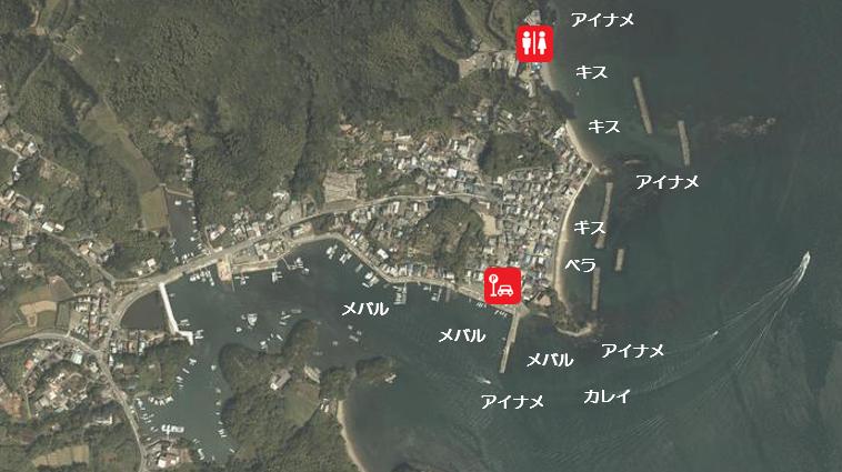 【三重県鳥羽市】『安楽島海水浴場周辺』の海釣りガイド(釣れる魚・駐車場・トイレ)