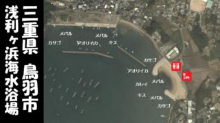 【三重県鳥羽市】『浅利ヶ浜海水浴場周辺』の海釣りガイド(釣れる魚・駐車場・トイレ)
