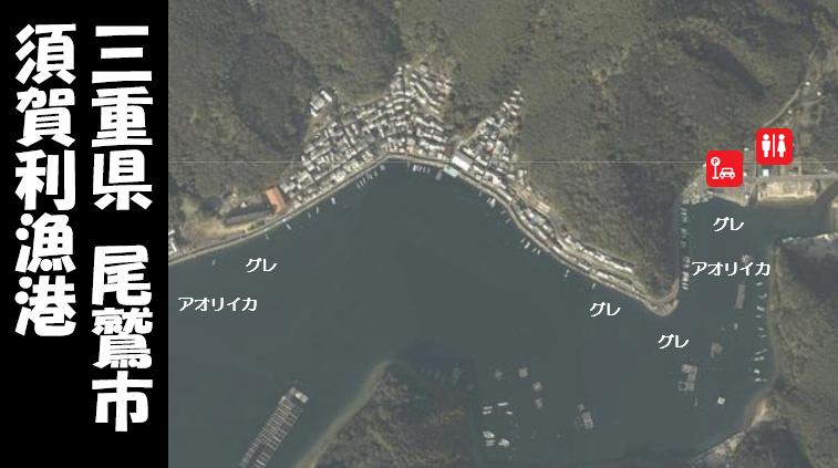 【三重県尾鷲市】『須賀利漁港(すがりぎょこう)』の海釣りガイド(釣れる魚・駐車場・トイレ)
