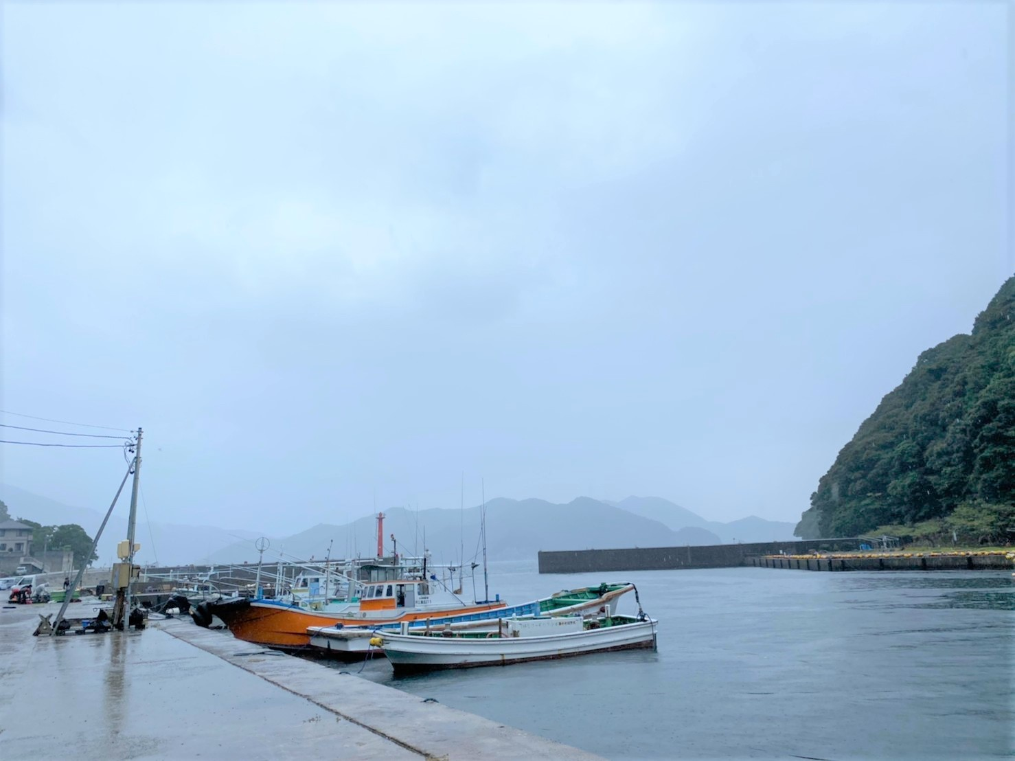 【三重県尾鷲市】『梶賀漁港(かじか)』の海釣りガイド(釣れる魚・駐車場・トイレ)
