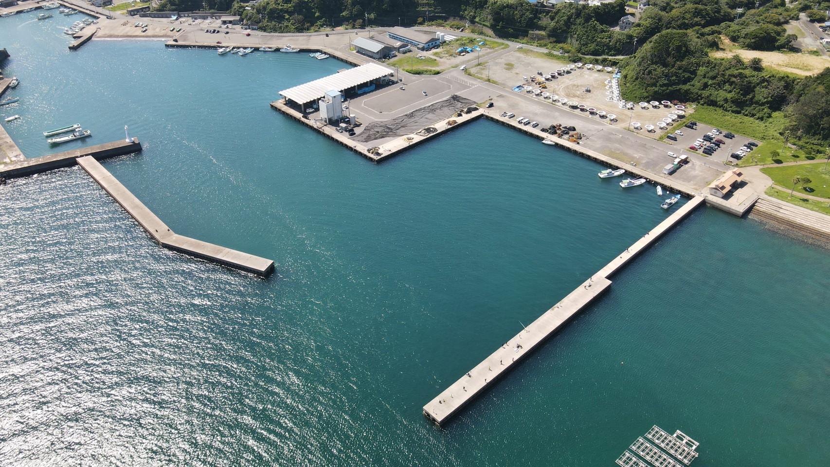 【三重県志摩市】『波切漁港』の海釣りガイド(釣れる魚・駐車場・トイレ)