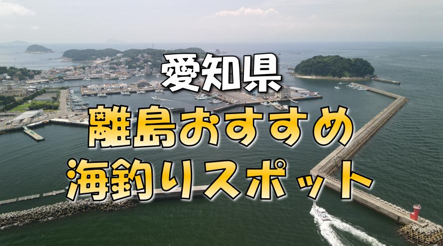 愛知離島おすすめ釣りスポット