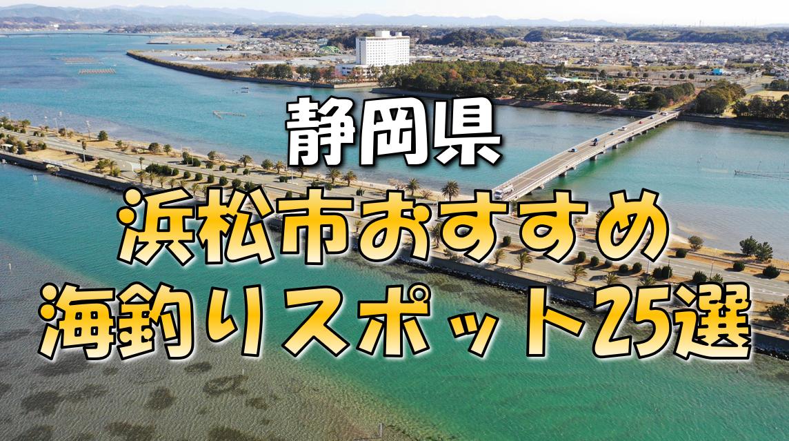 浜松市おすすめ釣りスポット