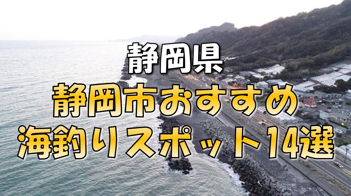 静岡市おすすめ釣りスポット